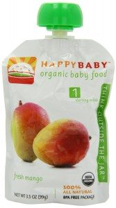 Happy Baby Organic Baby Food 1 Starting Solids, Fresh Mango, 3.5-Ounce (Pack of 16) Deal
