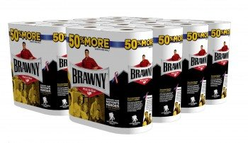 Brawny Giant Roll Paper Towel, Pick-A-Size, White Deal