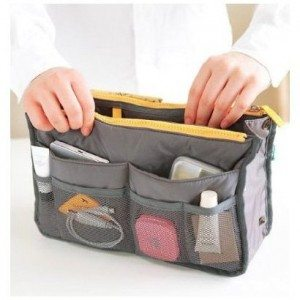 Handbag Pouch Bag in Bag Organiser Insert Organizer Tidy Travel Cosmetic Pocket Deal