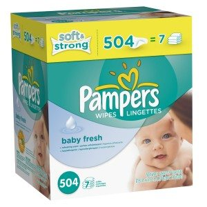 Pampers Softcare Baby Fresh Wipes 7x box Deal