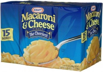 Kraft Blue Box Macaroni & Cheese, 7.25-Ounce Boxes Deal