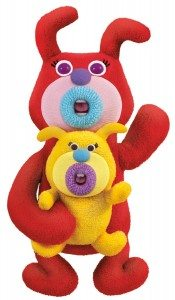 Mattel The Sing-A-Ma-Jigs Duets - Red with Puppy Deal