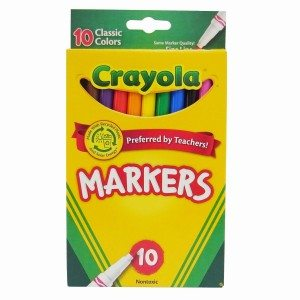 Crayola 10ct Classic Fine Line Markers Deal