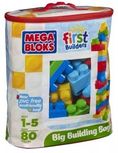 Megabloks 80 Pc Large Classic Bag Deal