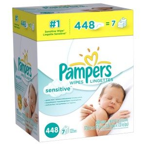 Pampers Sensitive Wipes Deal
