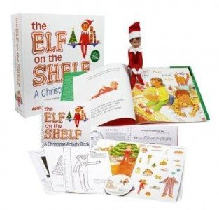 The Elf on the Shelf A Christmas Tradition with Blue Eyed North Pole Pixie-elf with Bonus 42 Page Official Activity Book Deal
