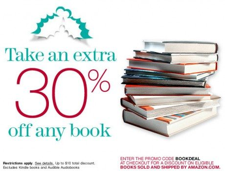 Take an Extra 30% Off Any Book