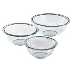 Pyrex Prepware 3-Piece Mixing Bowl Set Deal