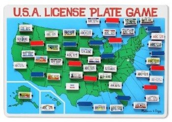 Melissa & Doug License Plate Game Deal