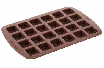 Wilton Silicone Brownie Squares Baking Mold Deal
