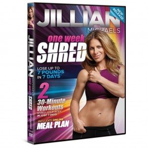 Jillian Michaels One Week Shred Deal