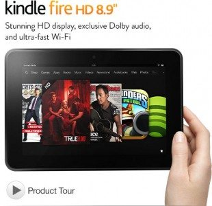 Certified Refurbished Kindle Fire HD 8.9 Tablet Deal