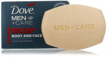 Dove Men + Care Body and Face Bar, Deep Clean Deal