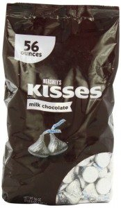 Hershey's Chocolate Kisses, 56 Ounce Deal