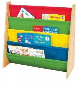 Tot Tutors Book Rack, Primary Colors Deal