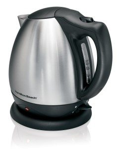 Hamilton Beach Stainless Steel Ensemble Electric Kettle, 10-Cup Deal