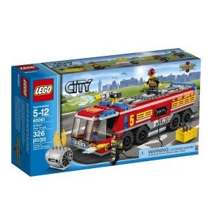 LEGO City Great Vehicles 60061 Airport Fire Truck Deal