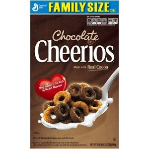 Chocolate Cheerios Cereal, 22 Ounce Deal
