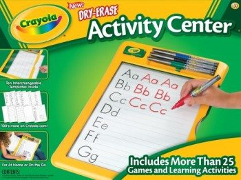 Crayola Dry Erase Activity Center Deal