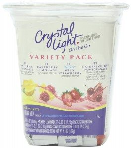 Crystal Light On The Go Drink Mix, Variety Pack, 44 Count Deal
