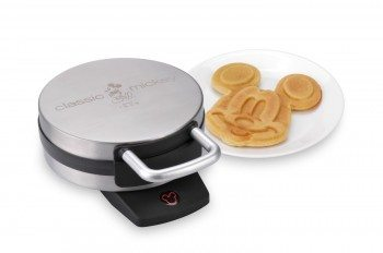 Disney DCM-1 Classic Mickey Waffle Maker, Brushed Stainless Steel Deal