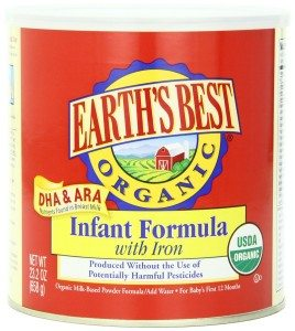 Earth's Best Organic Infant Formula with Iron, 23.2 Ounce Deal