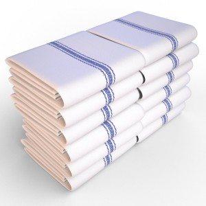 Keeble Outlets One Dozen (12) Kitchen Dish Towels Deal