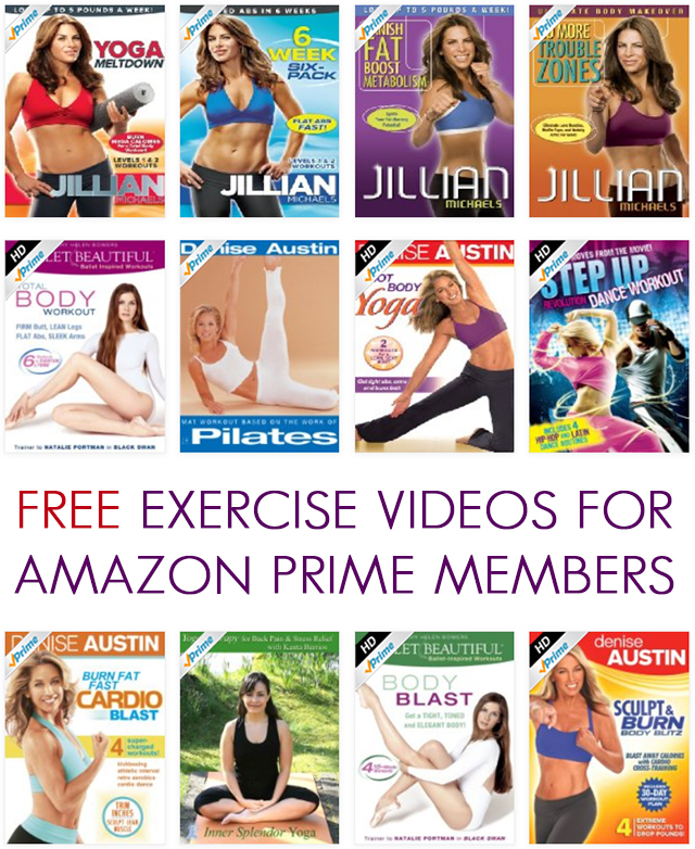 FREE Exercise Videos for Amazon Prime Members