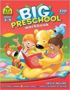 Big Preschool Workbook Deal