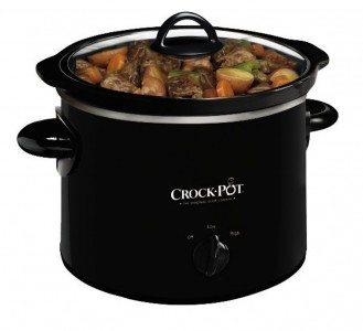 Crock-Pot SCR200-B Manual Slow Cooker, 2 Quart Deal