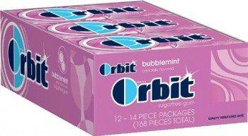 Orbit Bubblemint Sugarfree Gum, 14-Piece Packs Deal