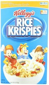 Rice Krispies Toasted Rice Cereal, 18-Ounce Boxes Deal