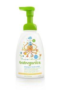 Babyganics Shampoo + Body Wash, Fragrance Free, 16 Fluid Ounce (Pack of 3) Deal