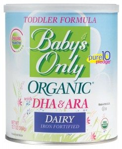 Baby's Only Organic Dairy with DHA & ARA Formula, 12.7 Ounce Deal