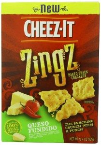 Cheez-It Zingz Wafer Queso, Fundito, 12.4 Ounce Deal