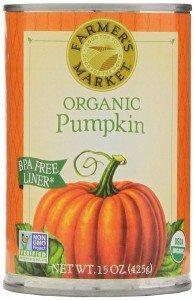 Farmers Market Organic Pumpkin, 15-Ounce (Pack of 12) Deal