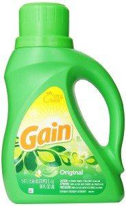 Gain With Freshlock Original Liquid Detergent 32 Loads 50 Fl Oz Deal