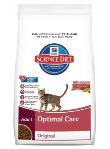 Hill's Science Diet Adult Optimal Care Original Dry Cat Food Deal
