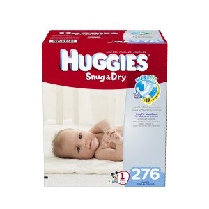 Huggies Economy Plus Pack Snug and Dry Diapers Deal