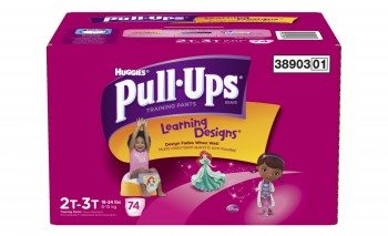 Huggies Pull-Ups Training Pants with Learning Designs for Girls Deal