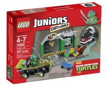 LEGO Juniors Turtle Lair 10669 Building Set Deal