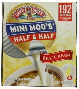 Land Lakes Mini Moos Creamer, Half and Half Cups, 192 Count Deal