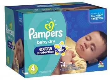 Pampers Baby Dry Extra Protection Diapers Deal