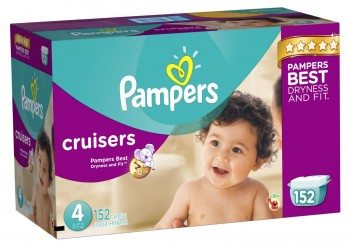 Pampers Cruisers Diapers Deal