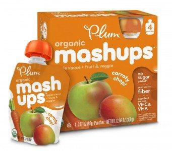 Plum Kids Organic Fruit and Veggie Mashups, Carroty Chop, 3.17 Ounce Deal