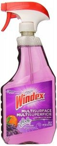 Windex Multi-Surface Cleaner Spray, Lavender & Peach Blossom, 26 oz (Pack Of 2) Deal