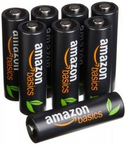 AmazonBasics AA High-Capacity Rechargeable Batteries (8-Pack) Pre-charged Deal
