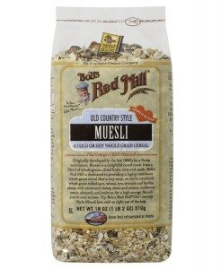 Bob's Red Mill Cereal Muesli, 4 - 18-Ounce Bags Deal