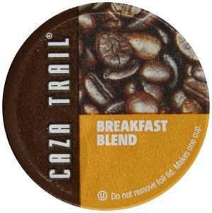 Caza Trail Single Serve Cup for Keurig K-cup Brewers, Breakfast Blend, 56 Count Deal