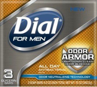 Dial for Men Odor Armor Bar, 3 Count, 4 Ounce Each Deal